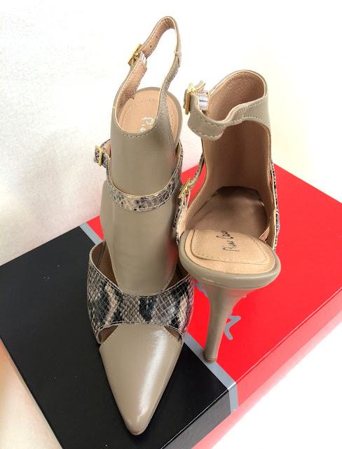 PIERRE CARDIN Sandales/Nu Pieds/Femme - Heels Laetitia - Taupe