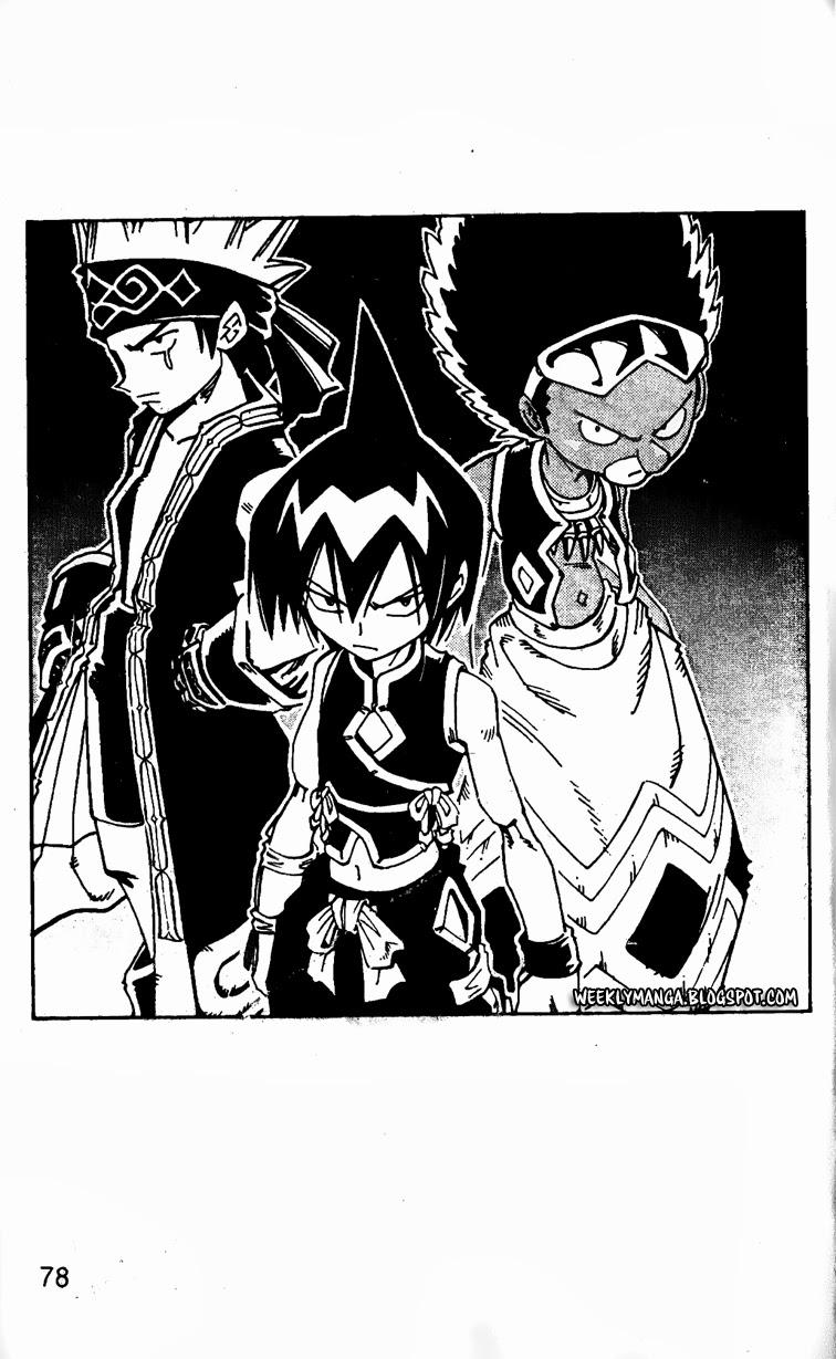 Shaman King [Vua pháp thuật] chap 127 trang 4