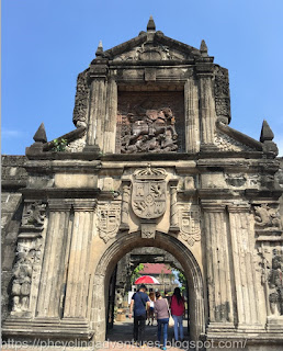 Fort Santiago Wall Gate