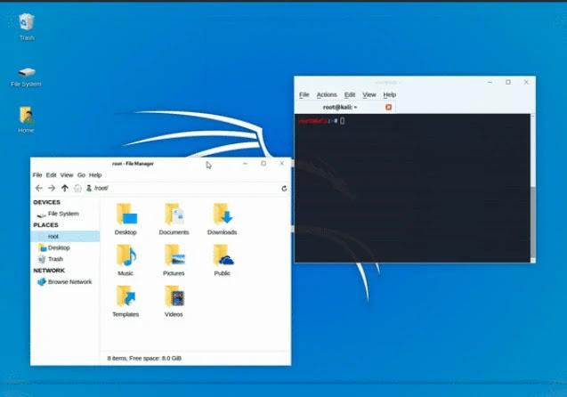 يتيح وضع Undercover الجديد لمستخدمي Kali Linux التظاهر بأنه يقوم بتشغيل Windows