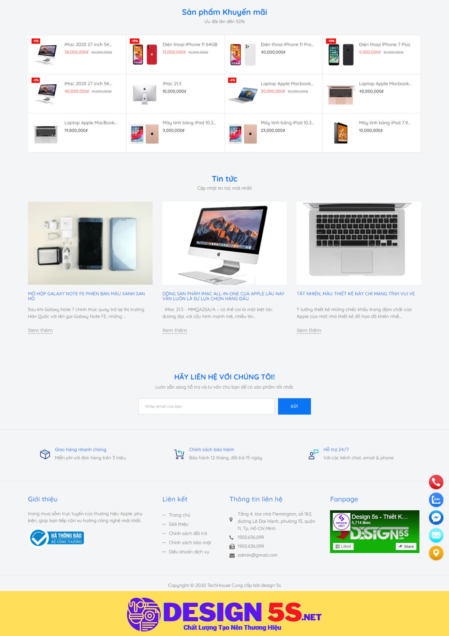 Theme blogspot bán máy tính, TechHose VSM35 - Ảnh 2