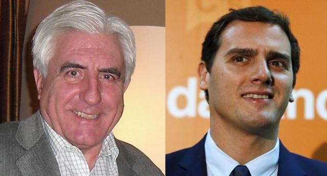 Enric Sopena y Albert Rivera