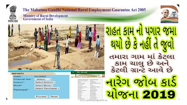 Check NREGA Job Card List 2019-2020 (State Wise) & Download MGNREGA Job Cards at nrega.nic.in