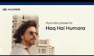 Haq Hai Humara Lyrics Vishal Mishra ft Shahrukh Khan