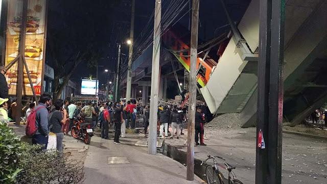 ACCIDENTE EN METRO DE LA CIUDAD DE MÉXICO DEJA 23 MUERTOS CASI UN CENTENAR DE HERIDOS (VIDEOS)