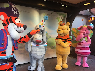 Pooh and Friends at Mickey's Not So Scary Halloween Party 2019