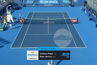 ATP 250 Delray Beach Open Eutelsat 10A Biss Key 8 January 2021