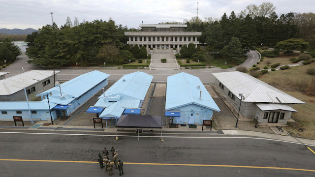 Seúl detecta un ovni sobre la zona desmilitarizada entre las dos Coreas