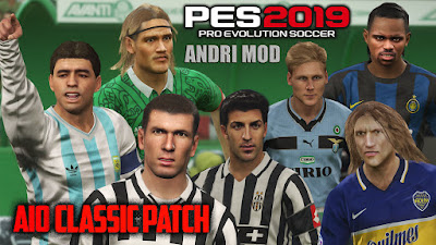 PES 2019 AIO Classic Patch 2019 Datapack 6.0