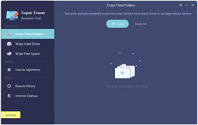 تحميل برنامج مسح الملفات بدون استرجاع DoYourData Super Eraser