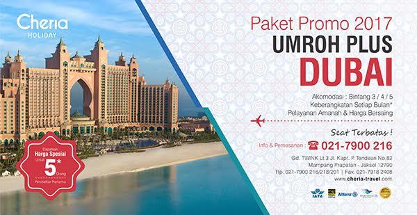 Paket Umroh Plus Dubai Tahun 2017
