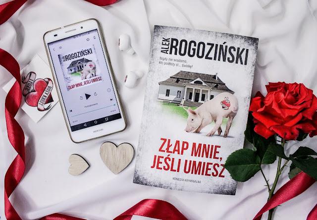 """""""Złap mnie, jeśli umiesz"""" Alek Rogoziński"""