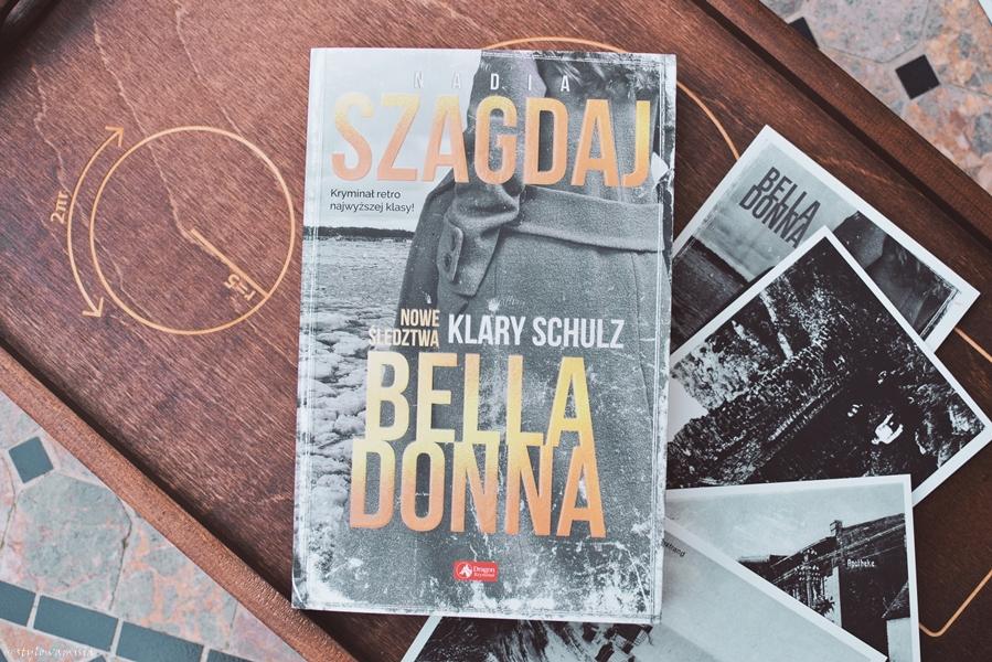 BellaDonna, kryminał, Łeba, NadiaSzagdaj, opowiadanie, recenzja, retro, WydawnictwoDragon,