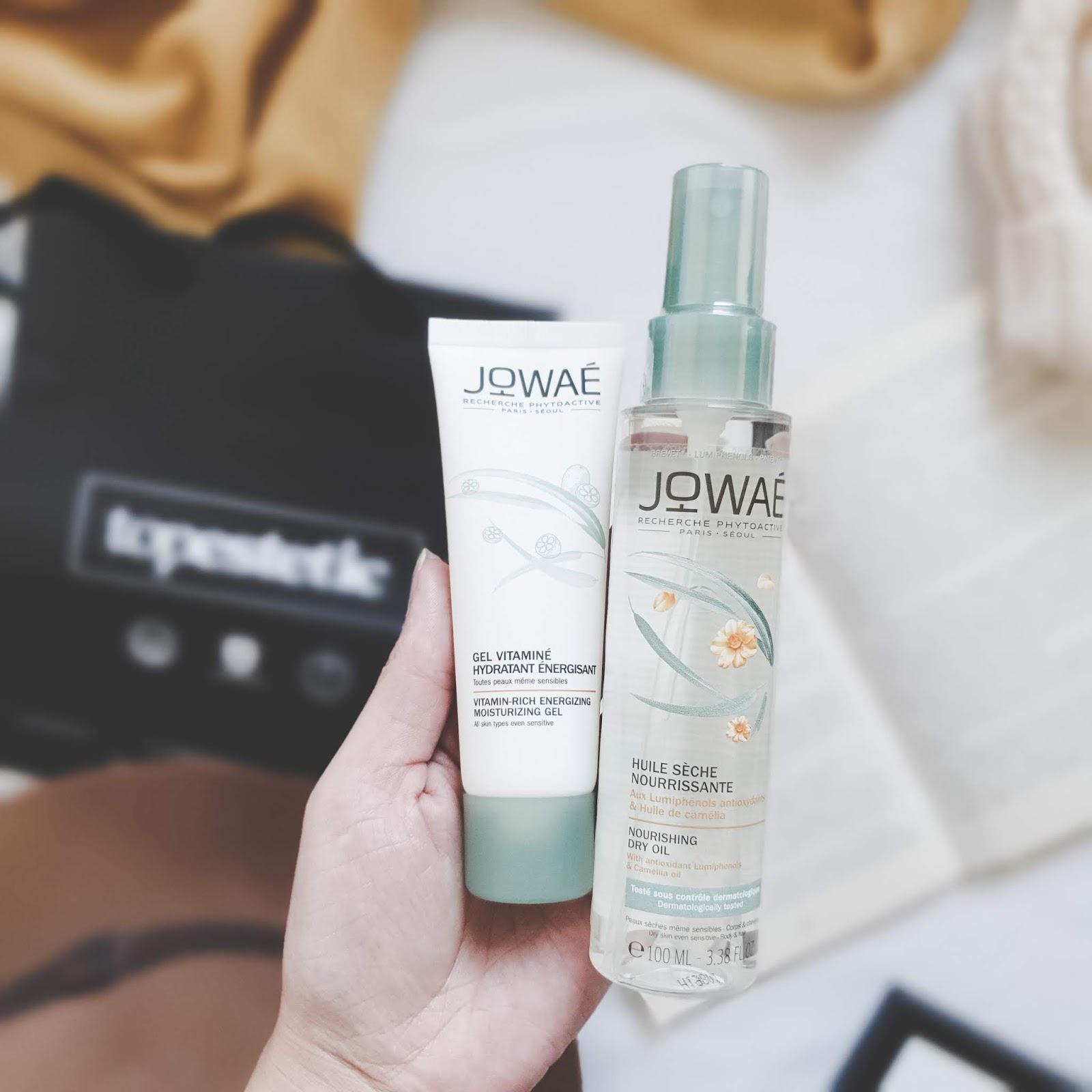 Jowae - kosmetyki naturalne ze sklepu Topestetic.pl - suchy olejek i witaminowy żel do twarzy