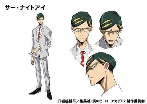 เซอร์ไนท์อาย (Sir Nighteye) @ My Hero Academia: Boku no Hero Academia มายฮีโร่ อคาเดเมีย