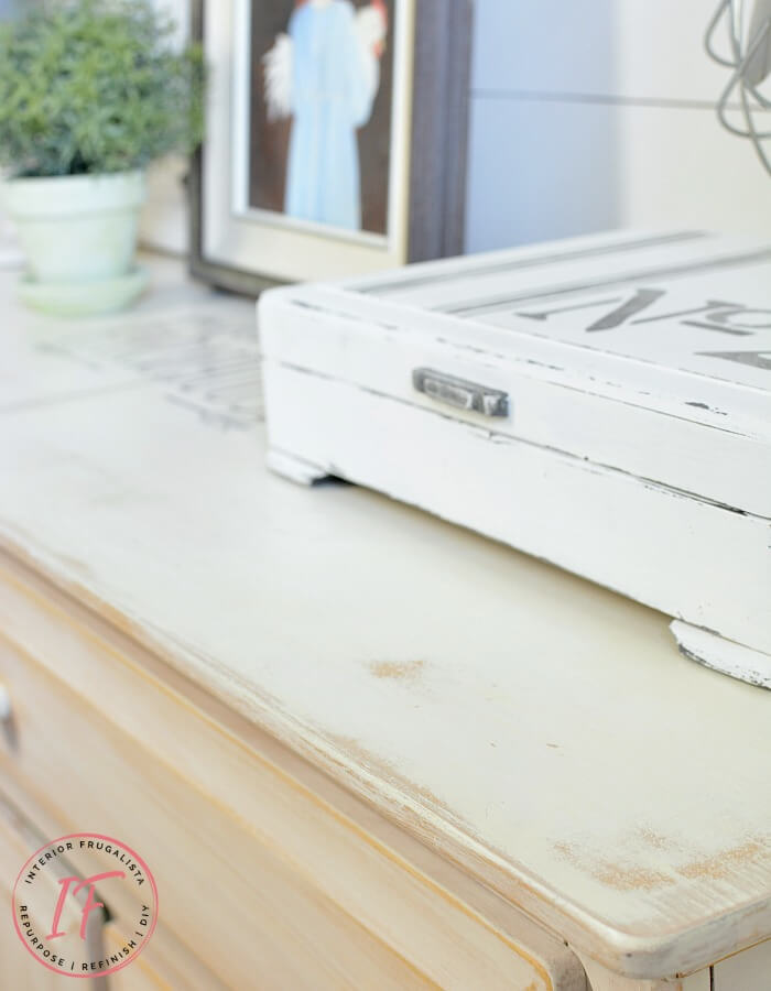 Farmhouse White Sidebosrd Buffet Top