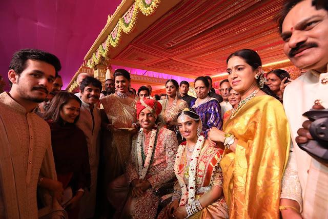nagarjuna,amala, akhil at subbarami reddy grandson keshav wedding