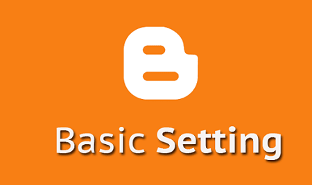 Pengaturan dasar blog