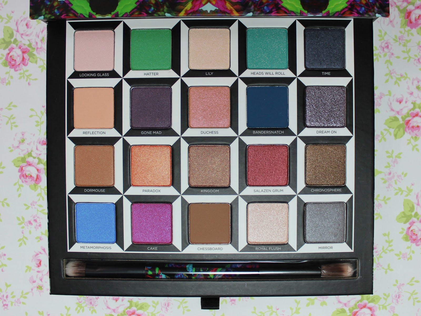 Urban Decay Alice Through the Looking Glass Palette swatch