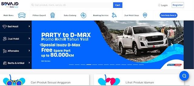 SEVA Tempat Mobil Online Terbaik Di Indonesia