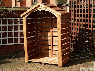 UK handmade Log store