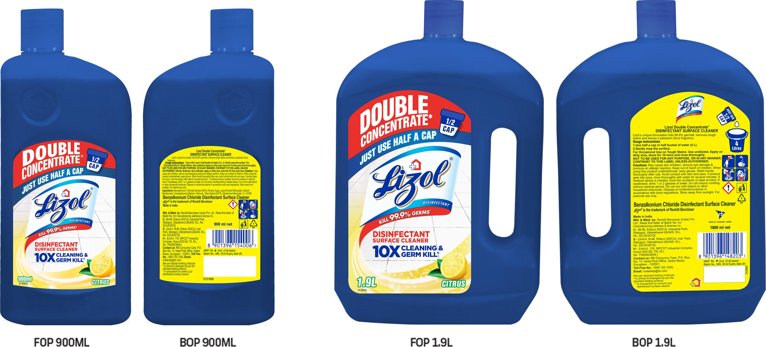 lizol introduces its first disinfectant