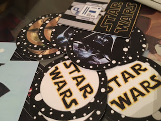 Toppers y etiquetas Star Wars