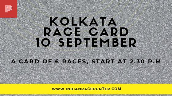 Kolkata Race Card , free indian horse racing tips, trackeagle,racingpulse