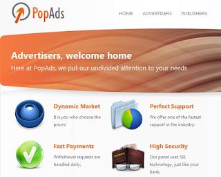 PopAds para anunciantes