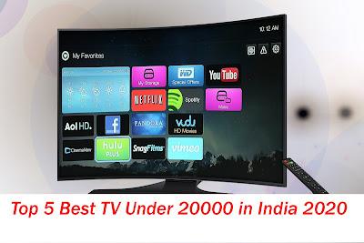Top 5 Best TV Under 20000 in India 2020