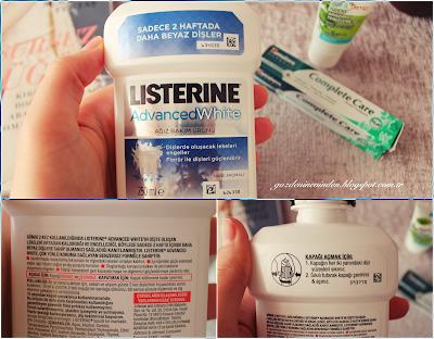 Listerine Advanced White Diş Beyazlatıcı