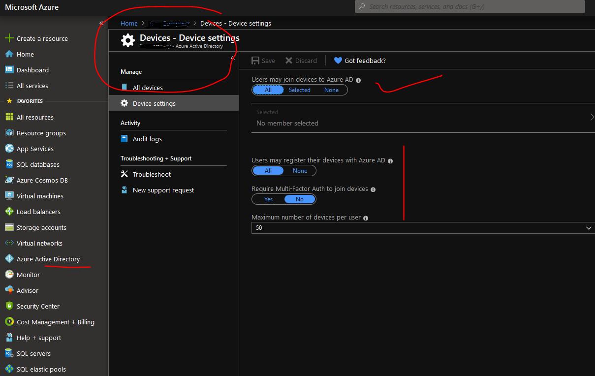 Pachehra: Azure AD Device Management