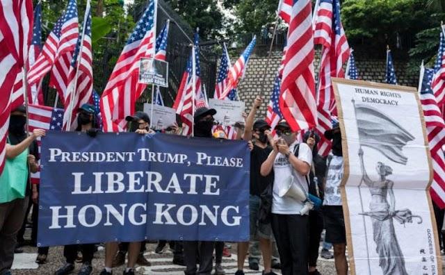 Peking ellenlépéseket ígért arra az esetre, ha Washington beavatkozik Hongkong ügyeibe