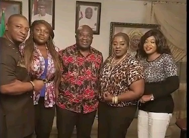 Photos: Abia State Governor Contributes 13million To Save Actor Prince James Uche