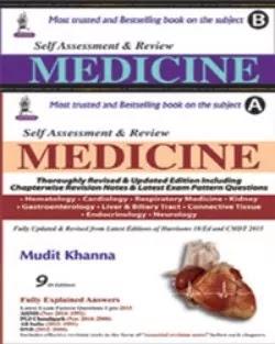 Self Assessment and Review Medicine Mudit Khanna 9th Edition 2 Volume Set PDF