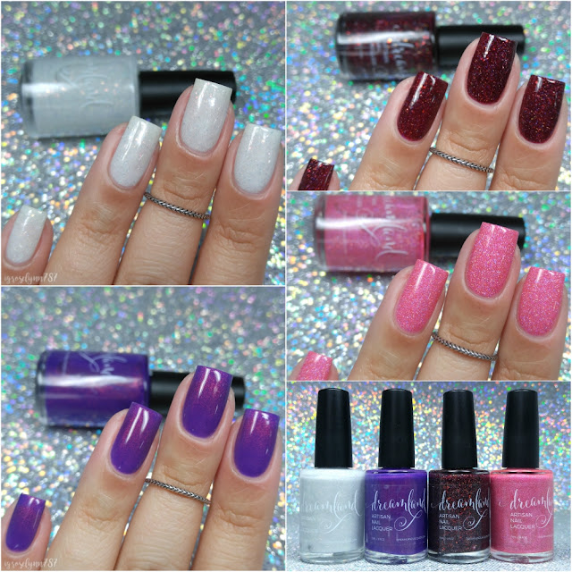 Dreamland Lacquer - Power Ballads: Valentine's Collection 2017