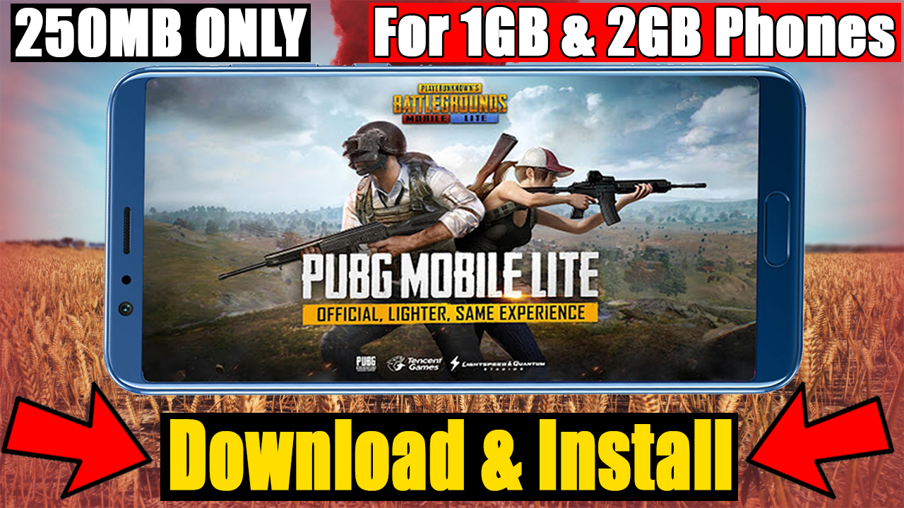 PUBG MOBILE LITE Game File Download