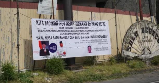 Spanduk Pencapresan Jokowi – Gatot Muncul di Solo