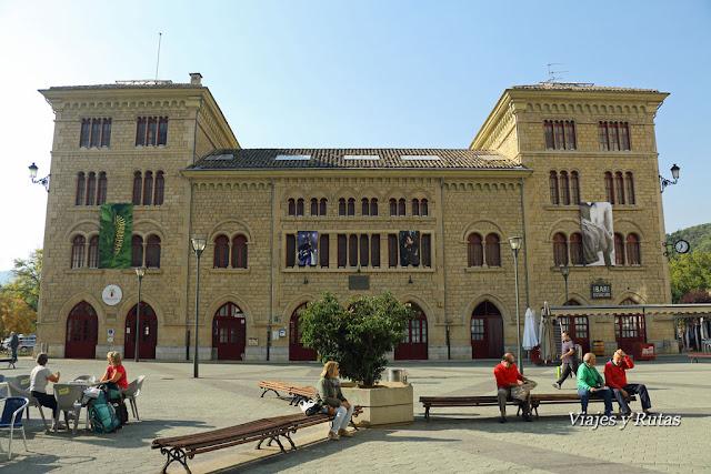 Estación de autobuses, Estella-Lizarra