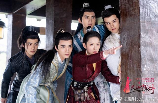 The Chang'an Youth ห้าดรุณแห่งฉางอัน (长安少年行)