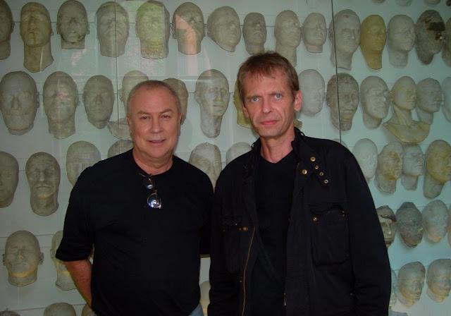Robert Wilson & Klaus Guingand -  2007 - Berlin - Allemagne. © Muriel Bonel