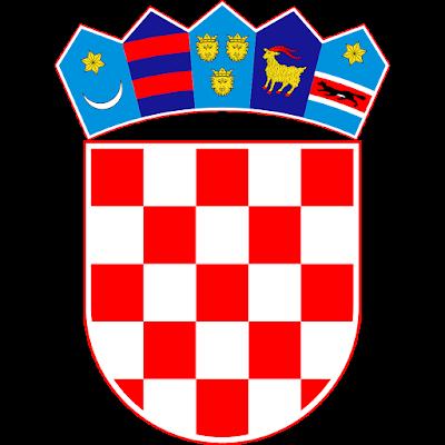 Coat of arms - Flags - Emblem - Logo Gambar Lambang, Simbol, Bendera Negara Kroasia