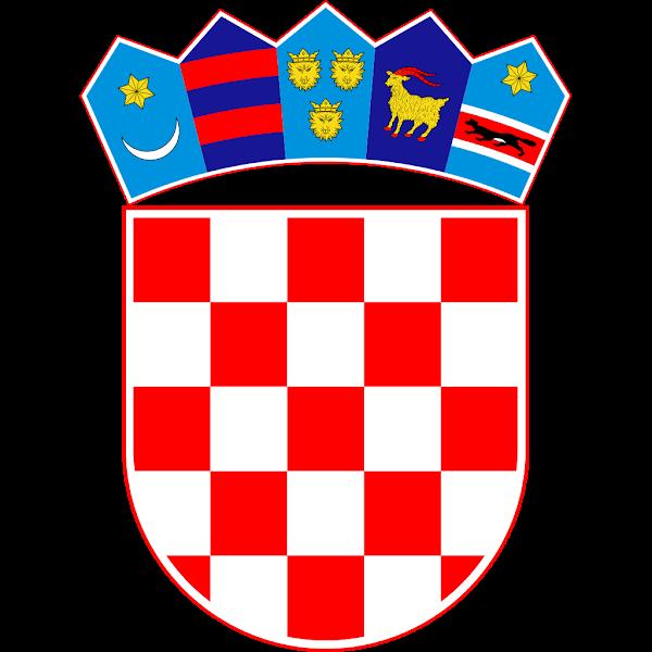 Logo Gambar Lambang Simbol Negara Kroasia PNG JPG ukuran 600 px
