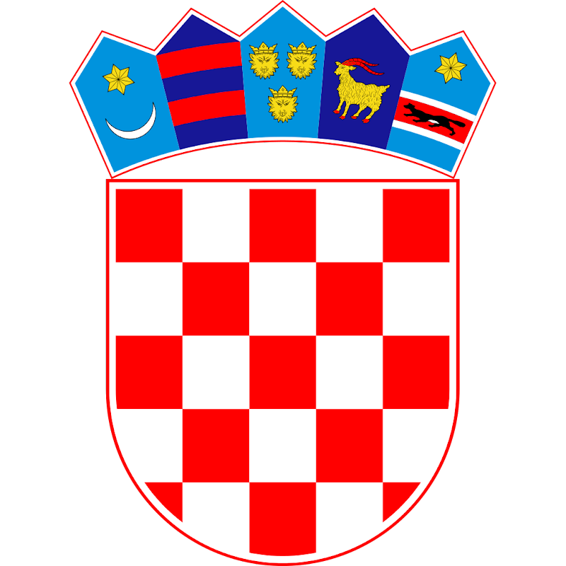 Logo Gambar Lambang Simbol Negara Kroasia PNG JPG ukuran 800 px