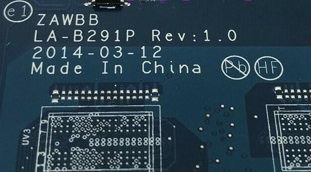 LA-B291P Rev1.0 ZAWBB Lenovo B50-45 Bios