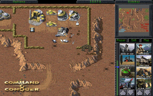 Command and conquer classic