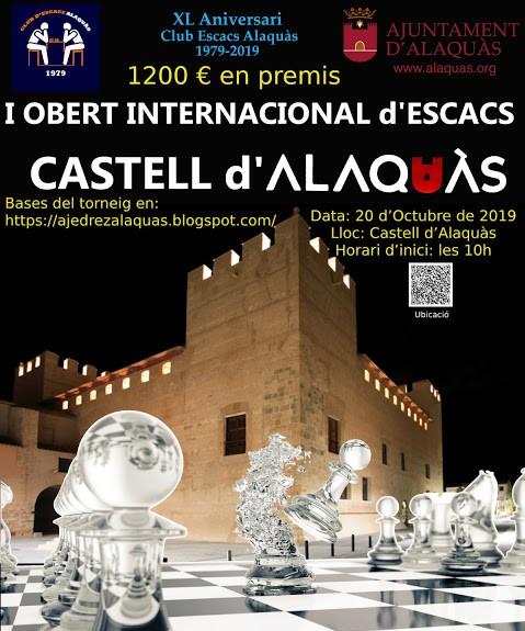 20 octubre, Open Castell d'Alaquàs