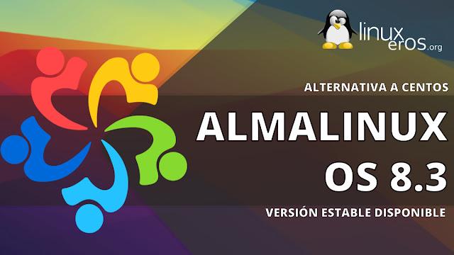 AlmaLinux OS 8.3, primera versión estable para reemplazar a CentOS