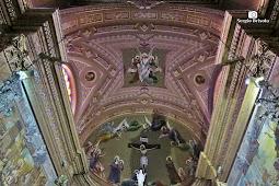 Paróquia Santuário Sagrado Coração de Jesus - Abóbada do Altar-mor