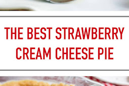 The Best Strawberry Cream Cheese Pie